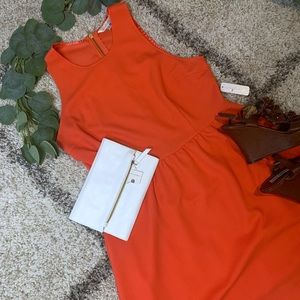 New with Tag Dark Coral Charming Charlie Dress